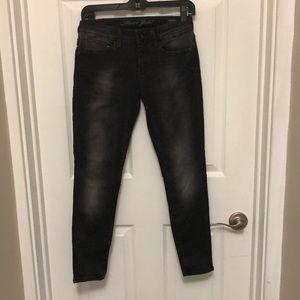 Mavi Gold Alexa Ankle Mid-Rise Skinny Jeans